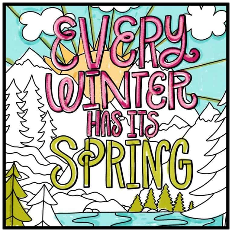 Every Winter Has It's Spring Illustration