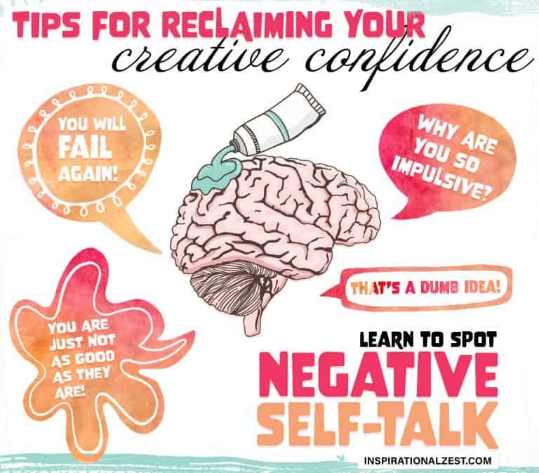 Negative Self-Talk Graphic Image