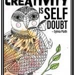 Motivational Quote | The worst enemy to Creativity is Self Doubt