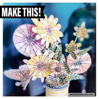 Whimsical DIY Paper Flower Bouquet | FREE DOWNLOAD!