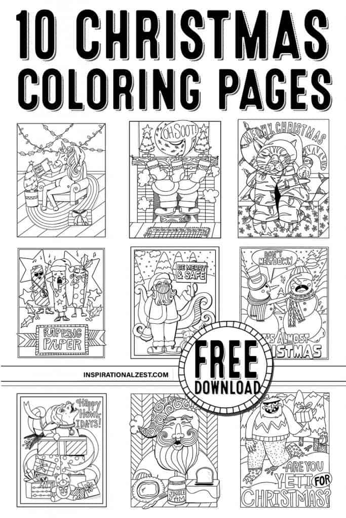 kids, Christmas, coloring pages, yeti, snowman, download, images