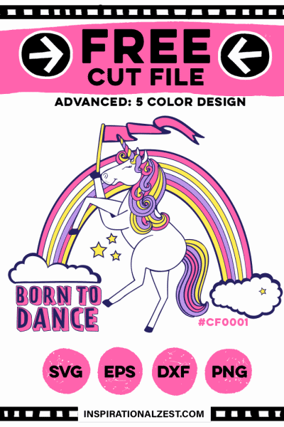 Unicorn SVG Cut File