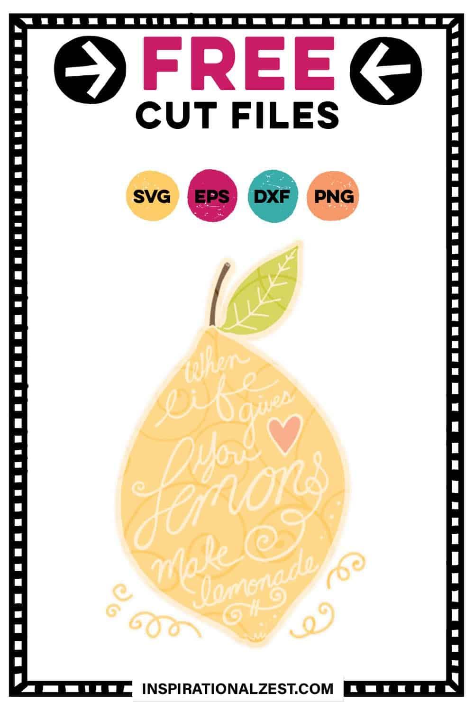 When Life Gives You Lemons SVG