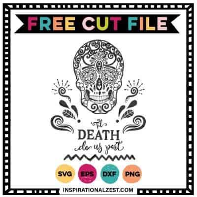 Til Death Do Us Part | Sugar Skull SVG