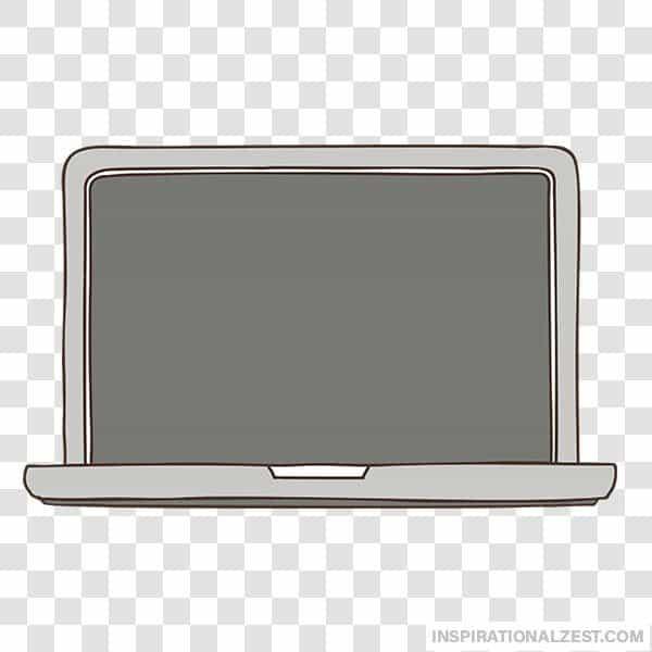 Laptop Computer Transparent PNG ClipArt Image.