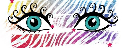 Euphoric Eyes with long lashes